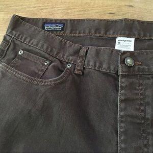 Brown Patagonia jeans